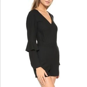 Women's Club Monaco black Biden's romper